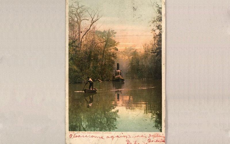 Hand-colored Photo Postcard